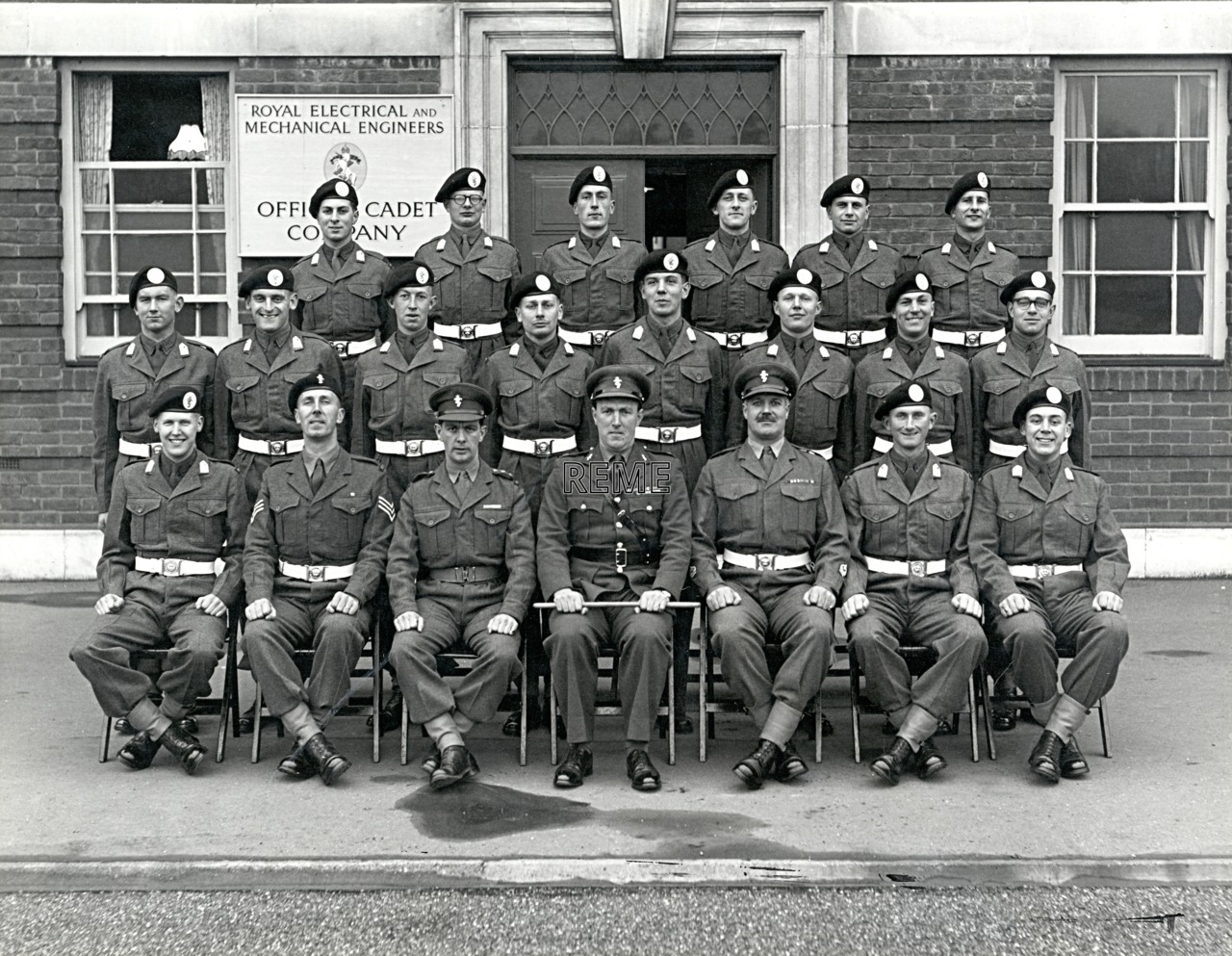 Officer Cadet Company, REME, Bordon: Intake No 33, March 1956