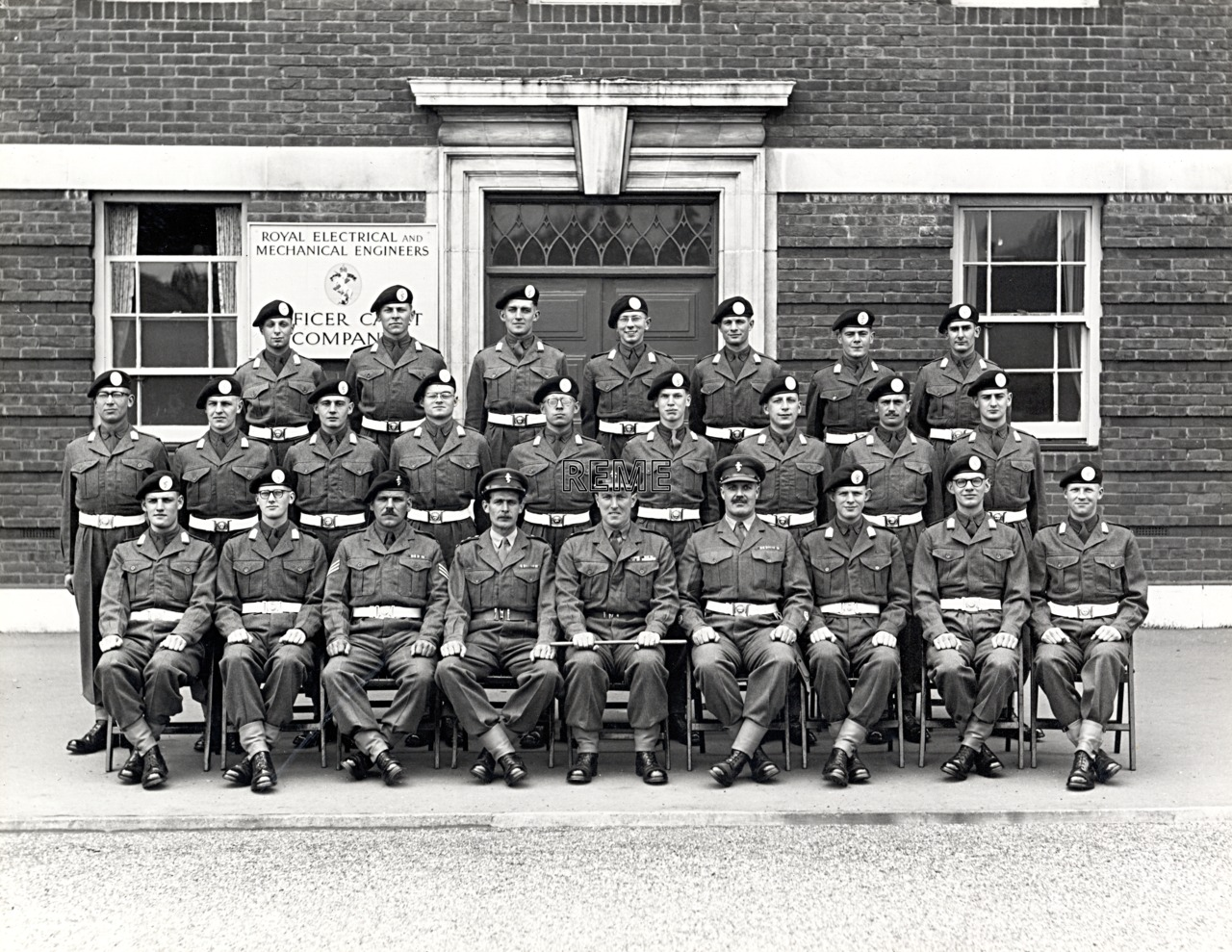 Officer Cadet Company, REME, Bordon: Intake No 34, April 1956