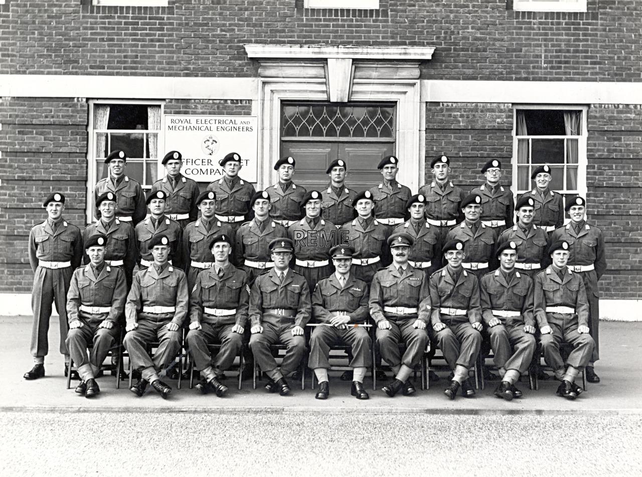 Officer Cadet Company, REME, Bordon: Intake No 35, April 1956