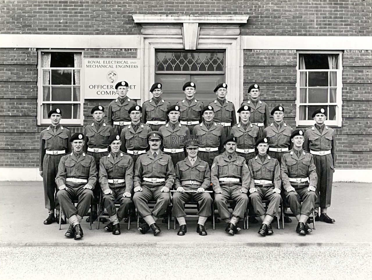 Officer Cadet Company, REME, Bordon: Intake No 36, May 1956
