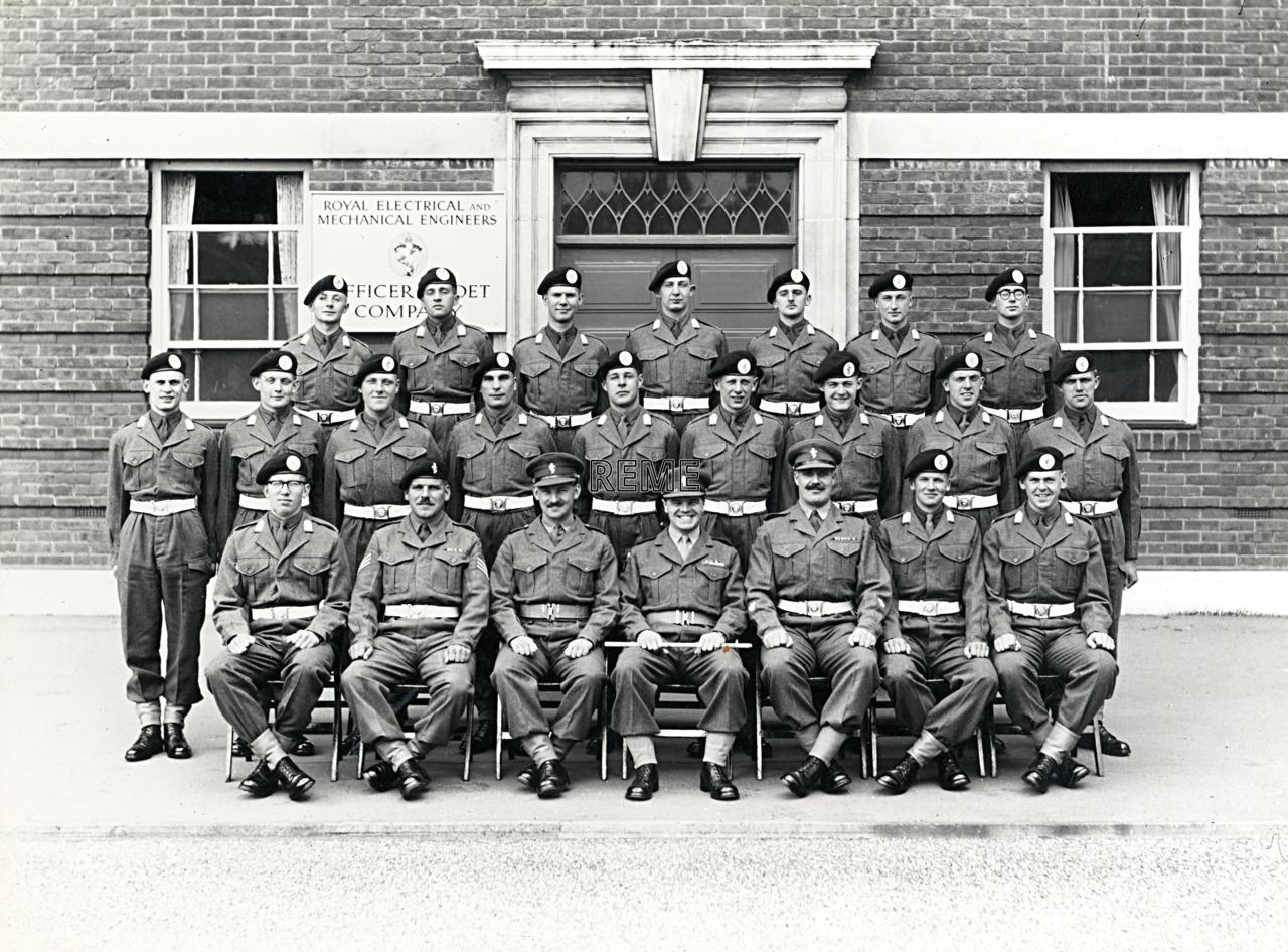 Officer Cadet Company, REME, Bordon: Intake No 37, May 1956