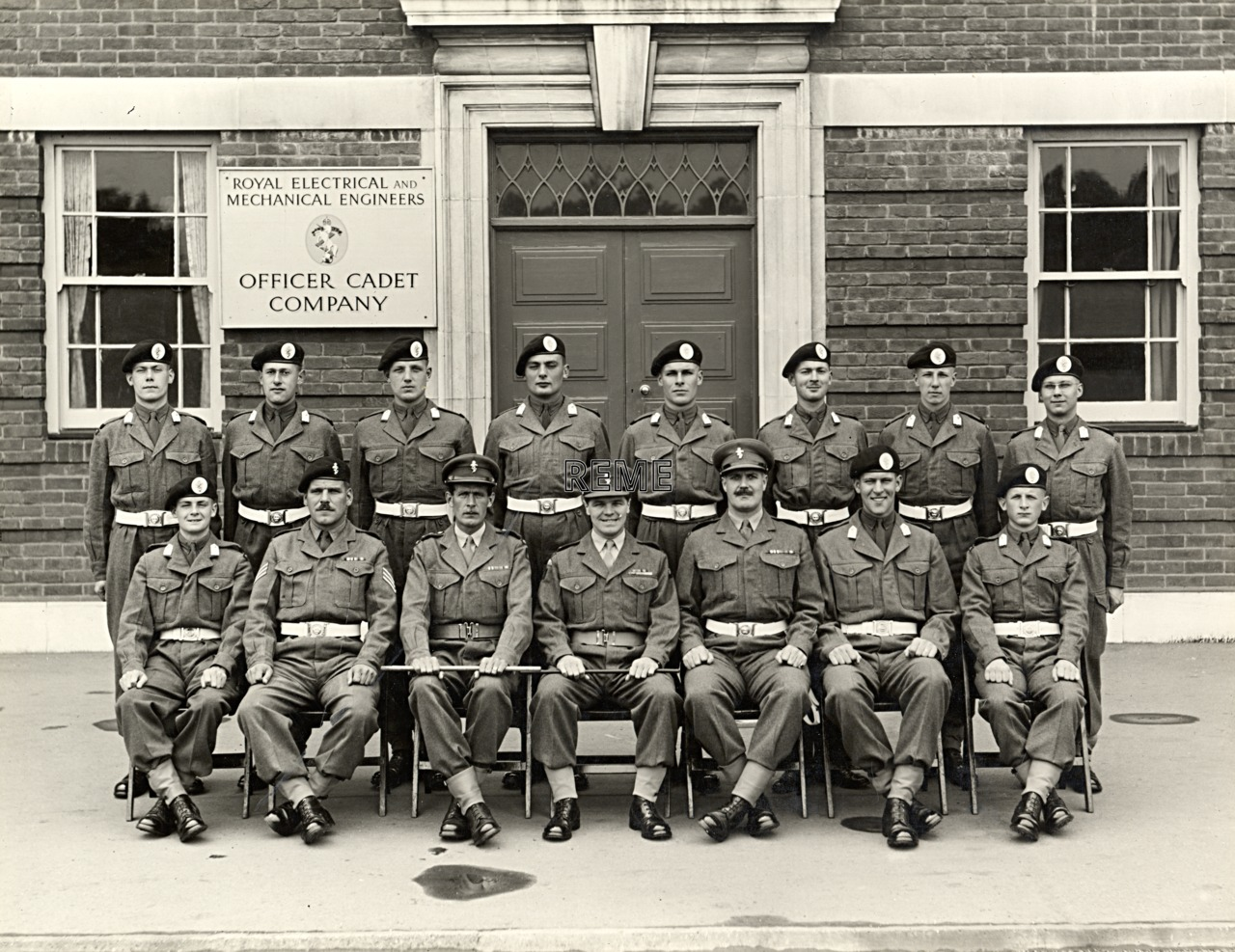 Officer Cadet Company, REME, Bordon: Intake No 39, July 1956