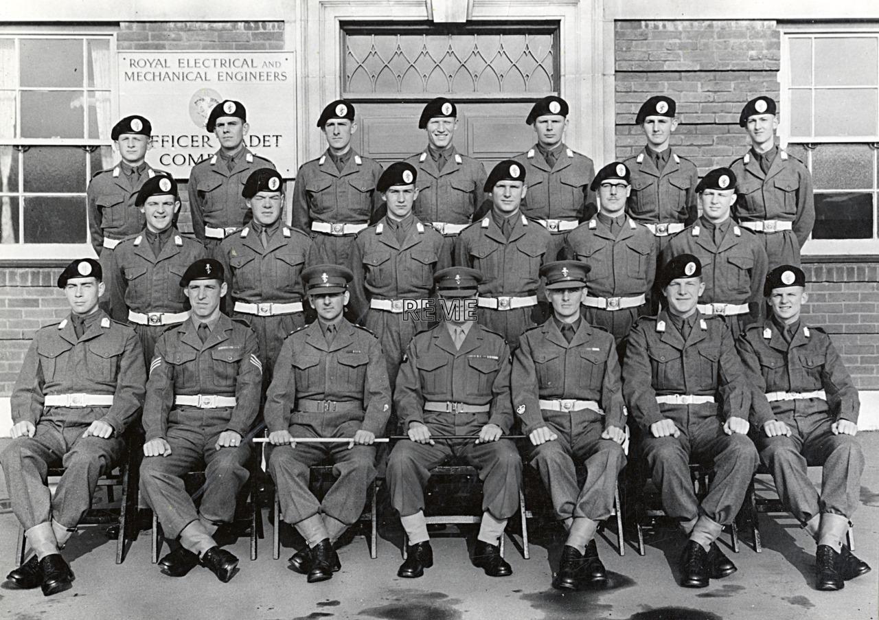 Officer Cadet Company, REME, Bordon: Intake No 41, September 1956
