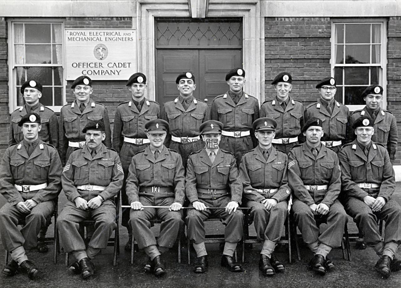 Officer Cadet Company, REME, Bordon: Intake No 42, October 1956