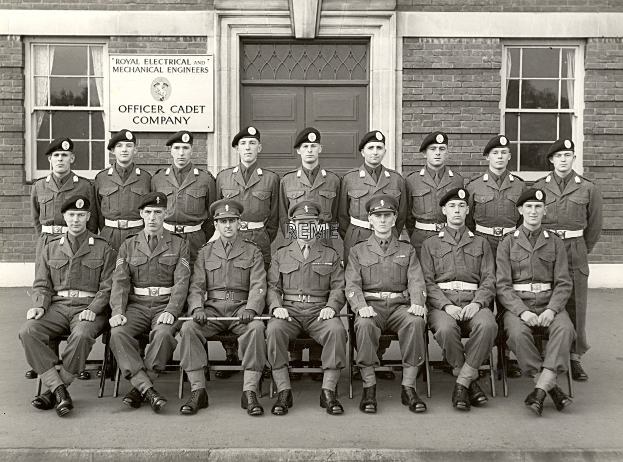 Officer Cadet Company, REME, Bordon: Intake No 43, November 1956