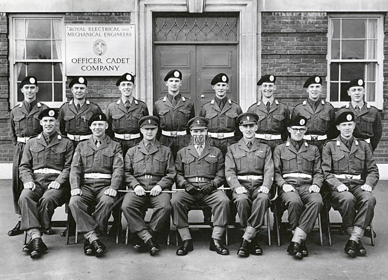 Officer Cadet Company, REME, Bordon: Intake No 45, February 1957