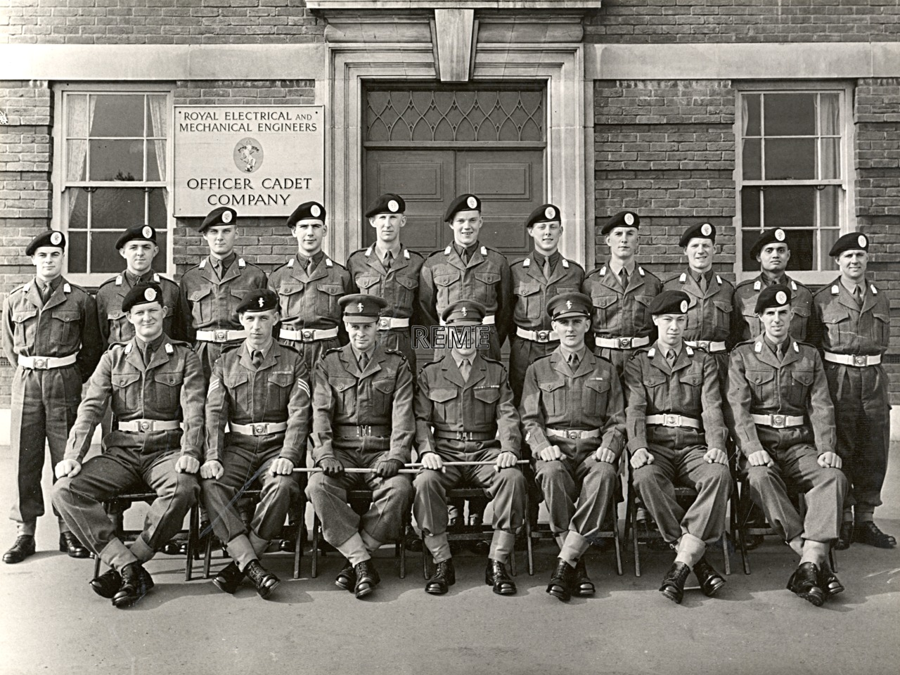 No 46, Cadet Officer General Course, Bordon: March 1957