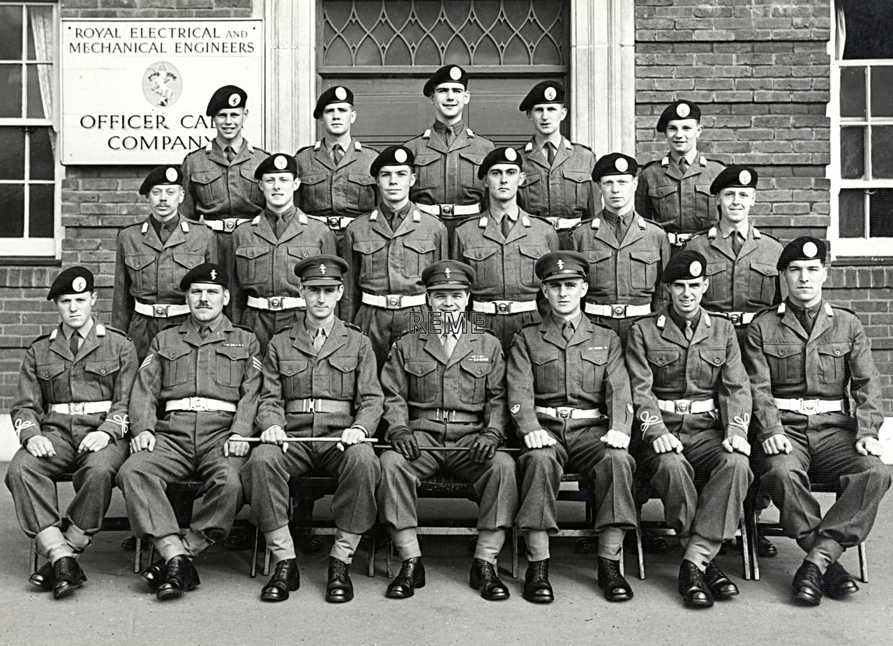 No 47, Cadet Officer General Course, Bordon: April 1957