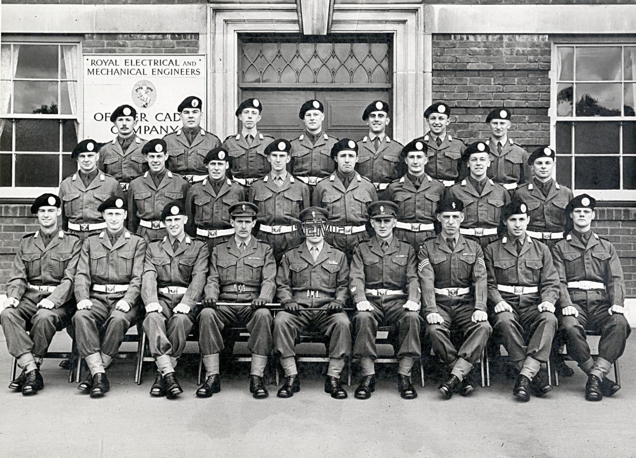 No 48, Cadet Officer General Course, Bordon: May 1957