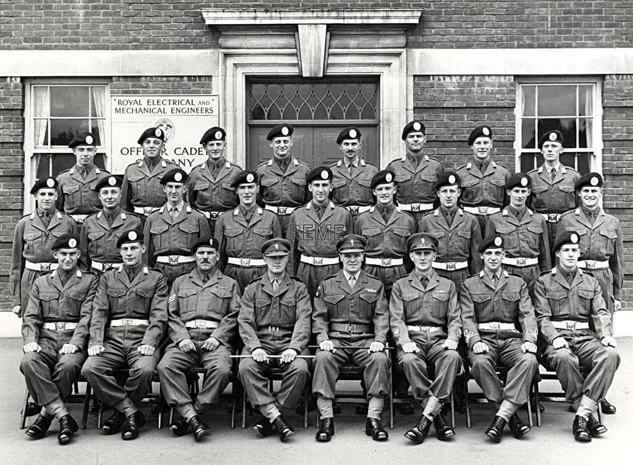 No 49, Cadet Officer General Course, Bordon: June 1957