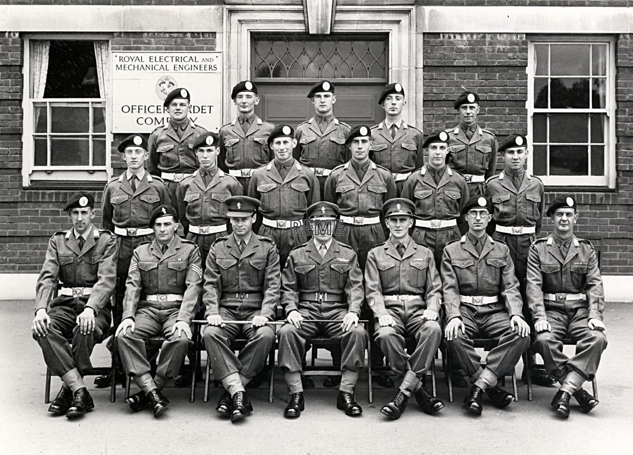 No 50, Cadet Officer General Course, Bordon: July 1957