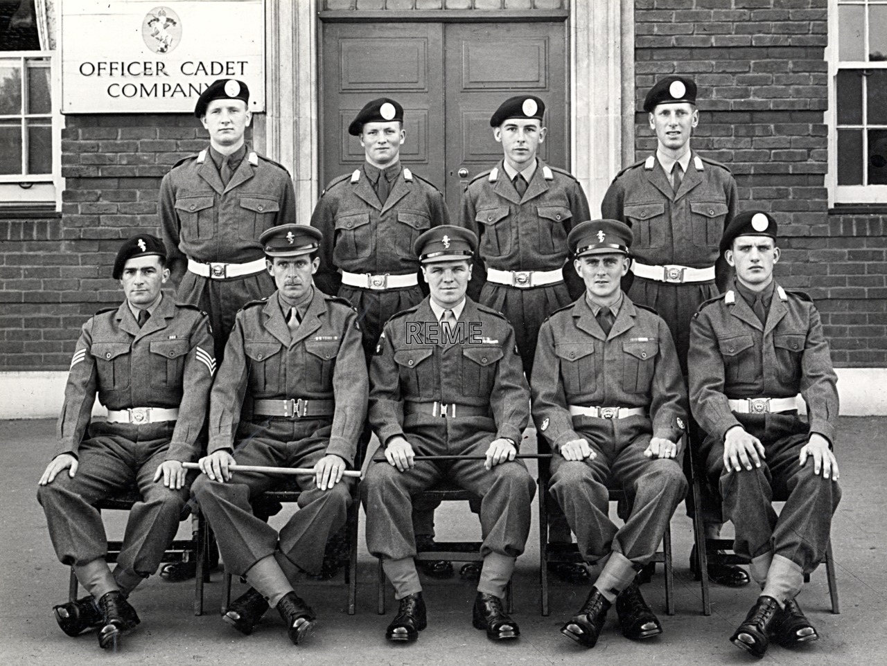 No 51, Cadet Officer General Course, Bordon: July 1957