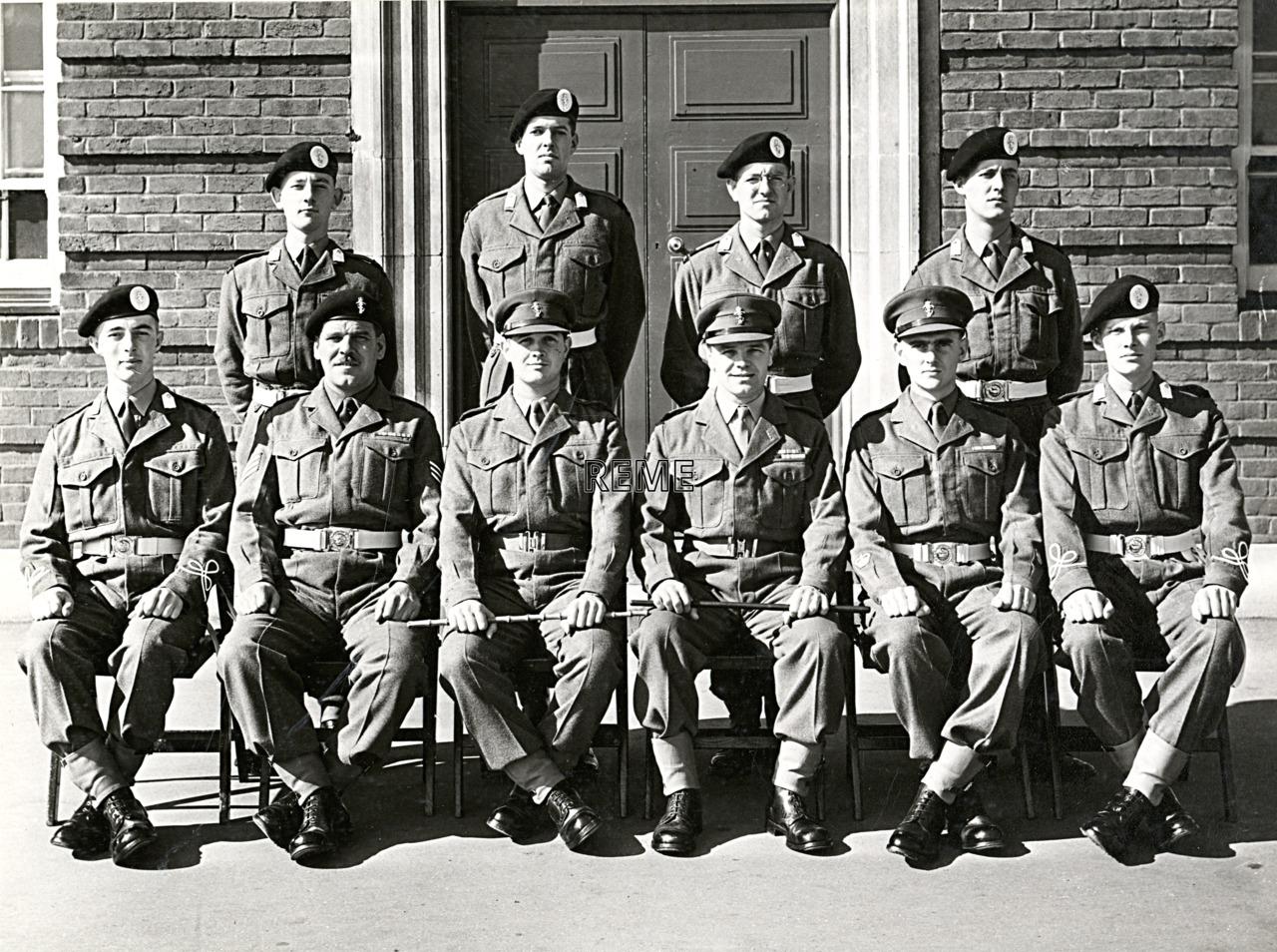 No 52 Cadet Officer General Course, Bordon: September 1957