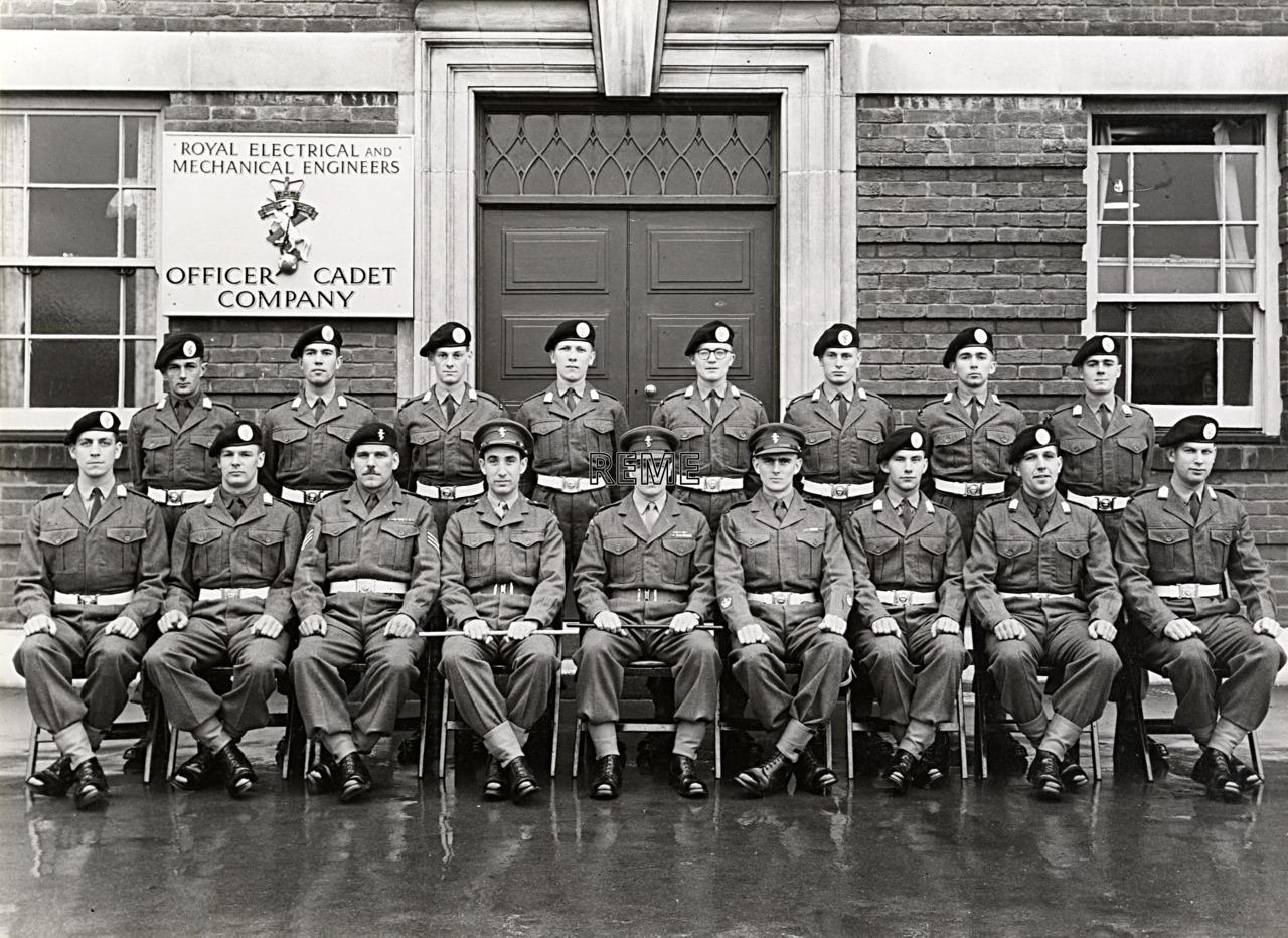 No 54 Cadet Officer General Course, Bordon: November 1957
