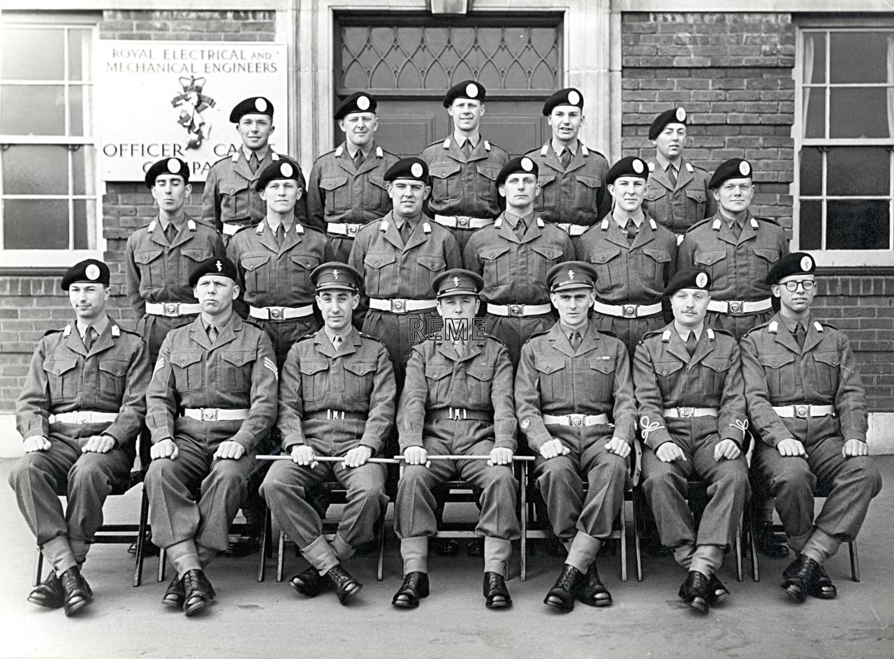 No 57 Cadet Officer General Course, Bordon: March 1958
