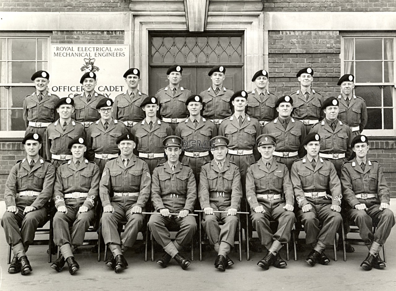 No 58 Cadet Officer General Course, Bordon: April 1958