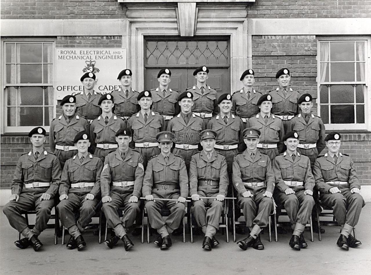 No 59 Cadet Officer General Course, Bordon: April 1958