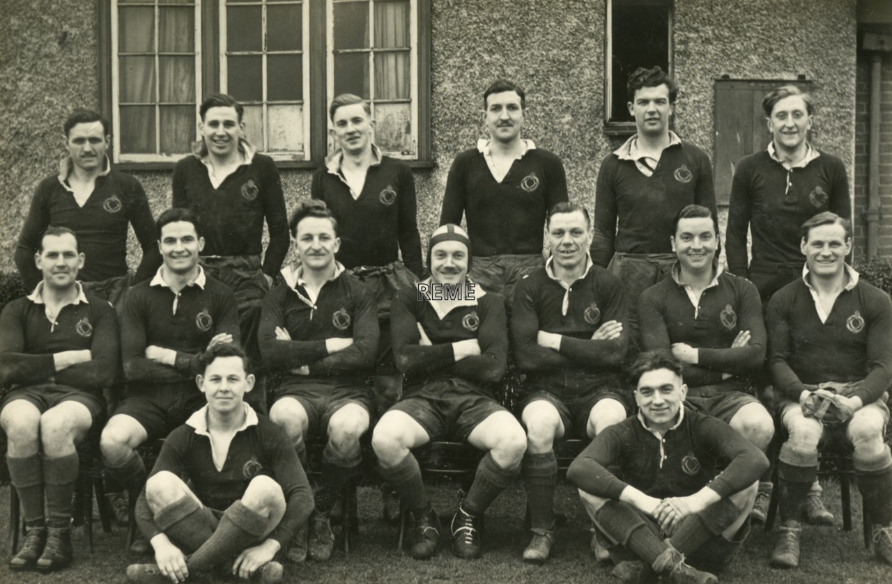 REME Arborfield 1st XV Rugby Team v Public School Wanderers