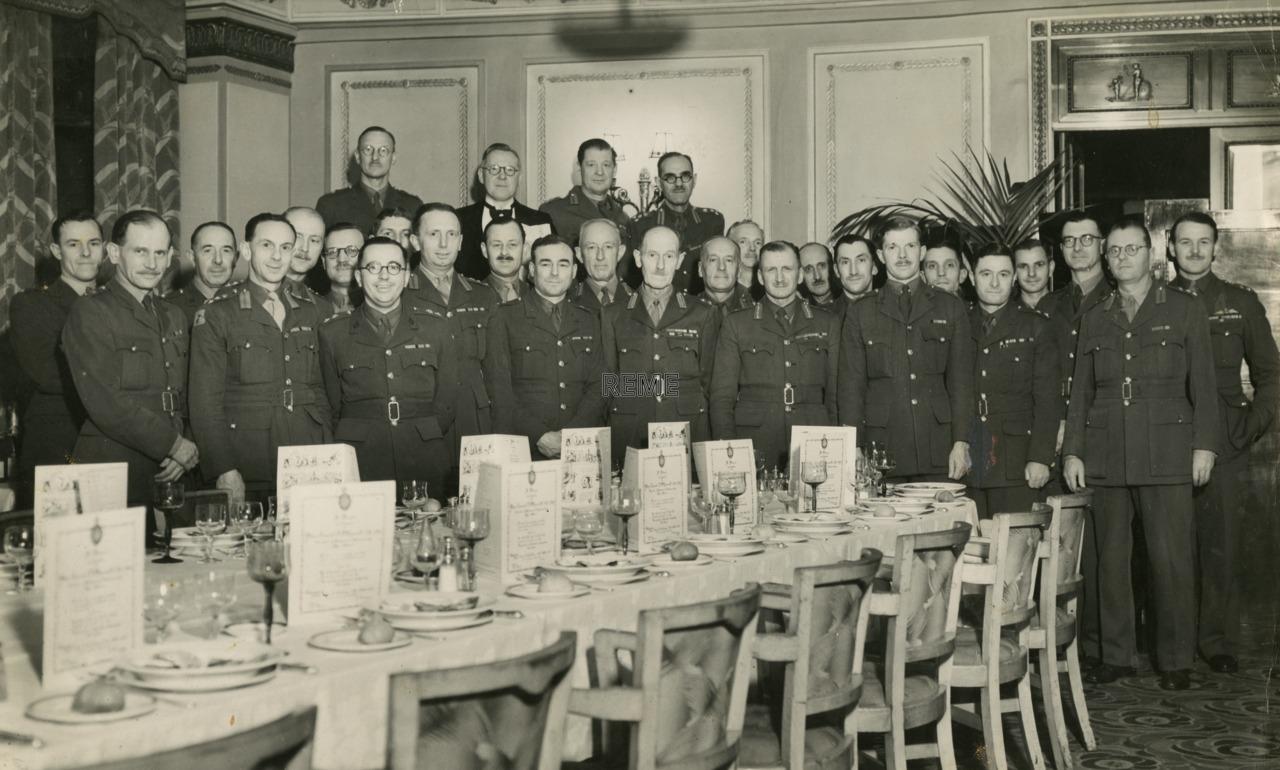 Dinner in honour of Major General Sir Eric Bertram Rowcroft, KBE, CB