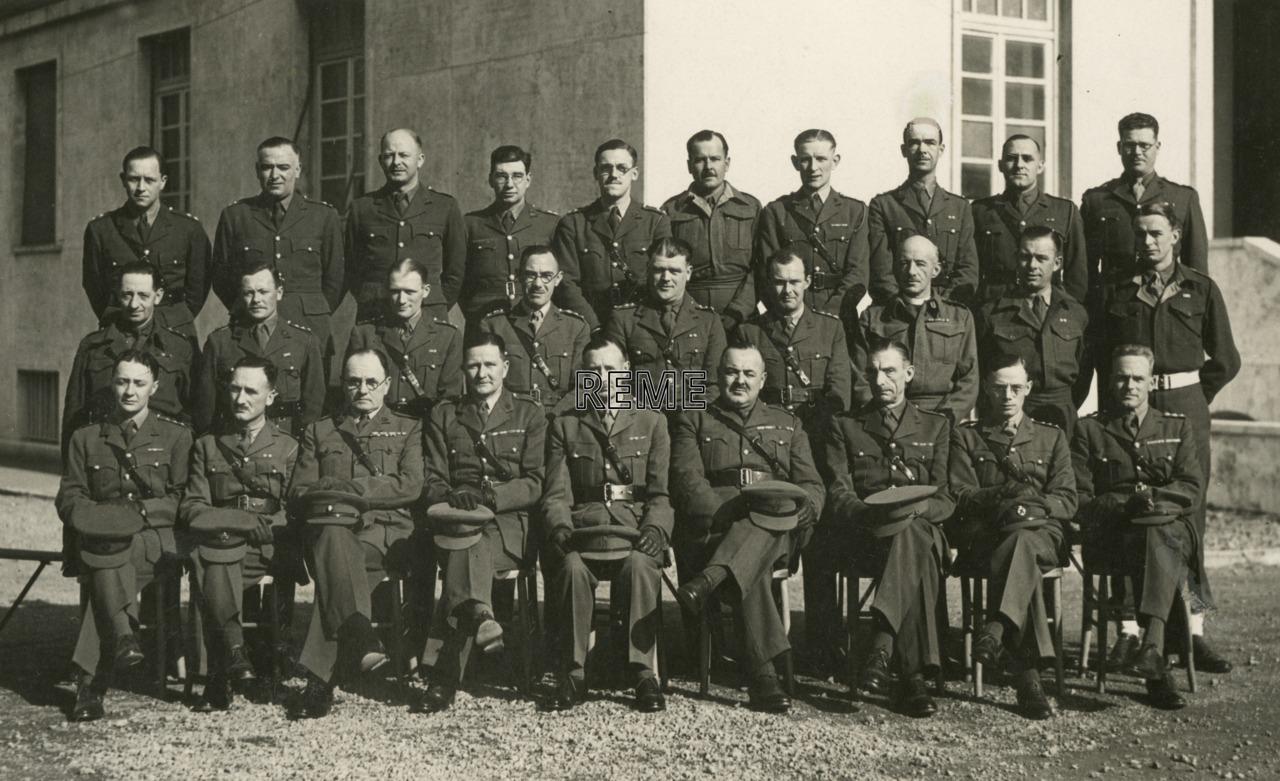 Officers of 1 Advanced Base Workshops, Rome