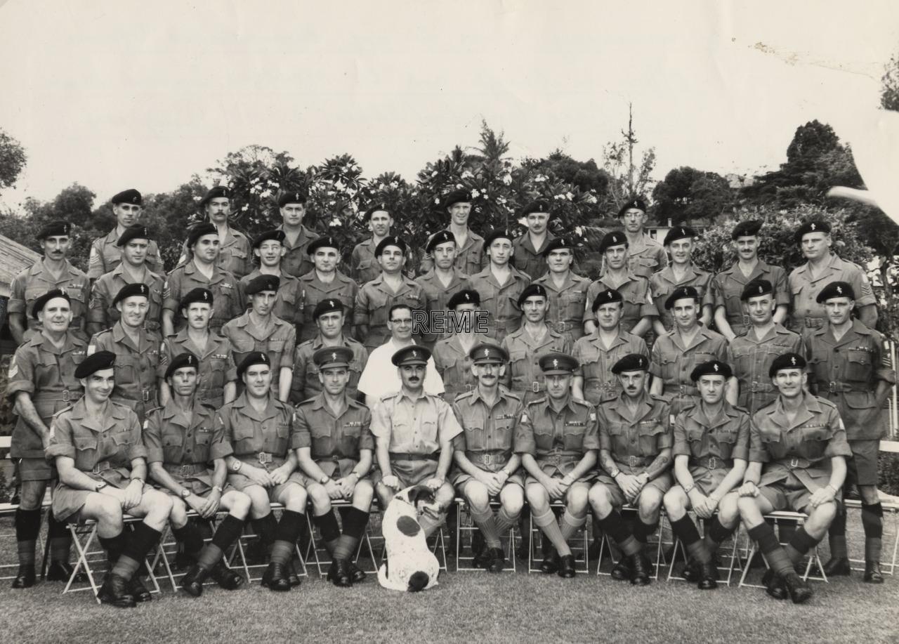 41 Base Workshop, Singapore, 1957