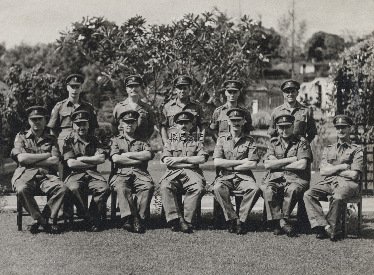 41 Base Workshop, Singapore, April 1957