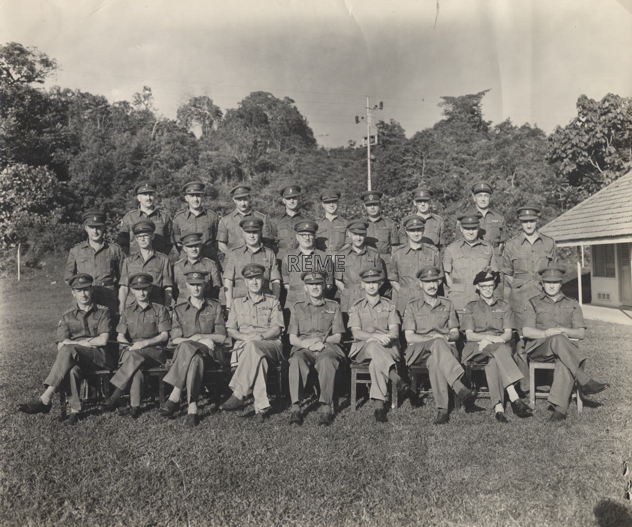 Officers of HQ 28 Commonwealth Independent Infantry Brigade Group, Malaya (Malaysia)