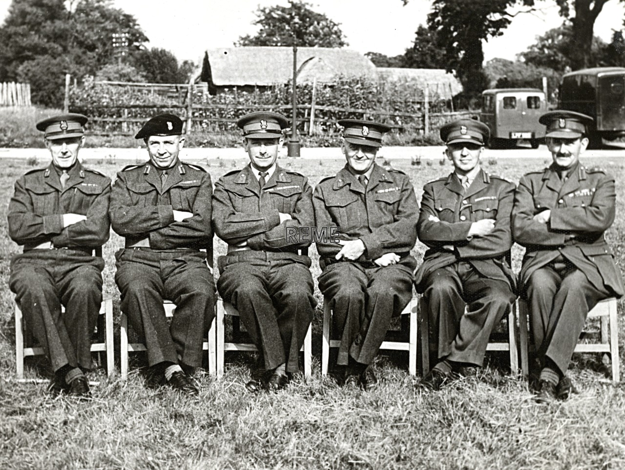 2nd Ordnance Mechanical Engineer (OME) course reunion, 1 September 1949
