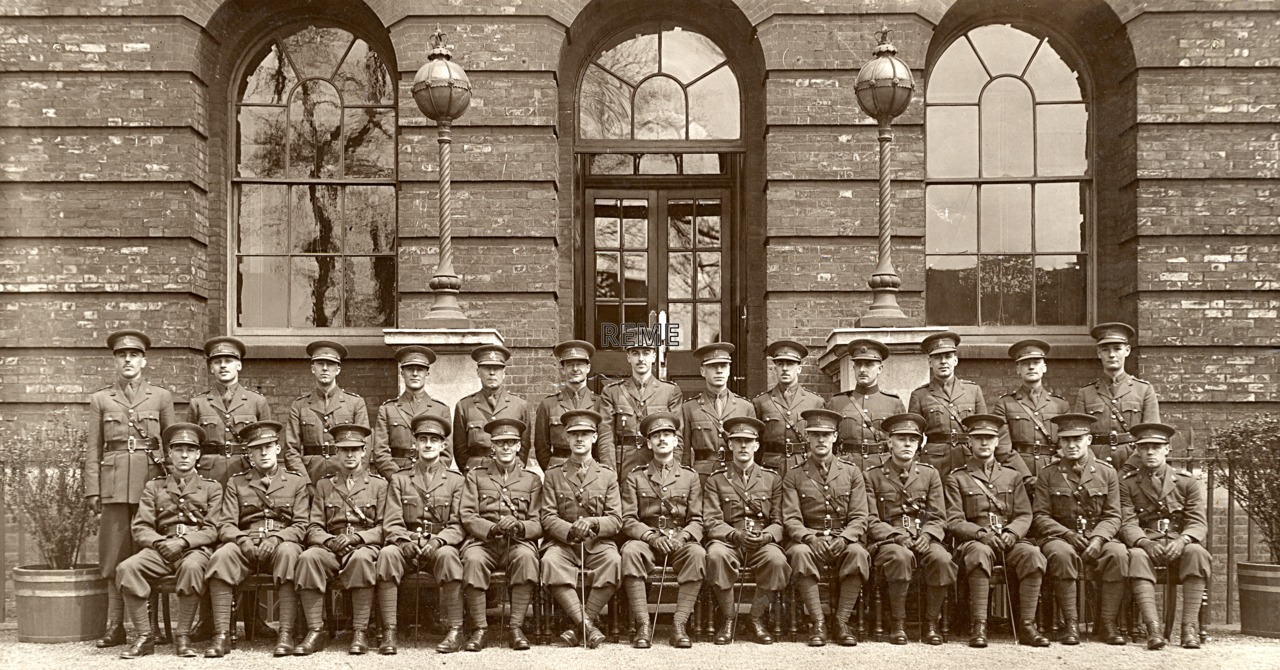 11th Ordnance Mechanical Engineer (OME) Course, Military College of Science, Woolwich, April 1935