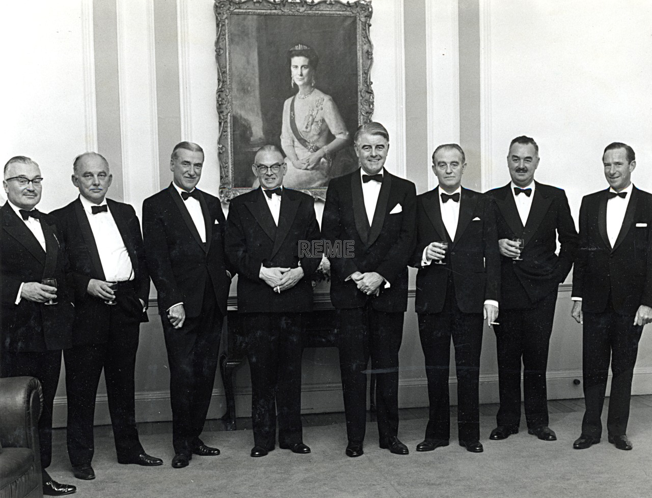 30 year reunion of the 17th Ordnance Mechanical Engineer (OME) Course, November 1968