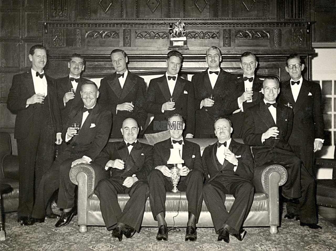 Reunion of the 19th Ordnance Mechanical Engineer (OME) Course, 29 October 1960