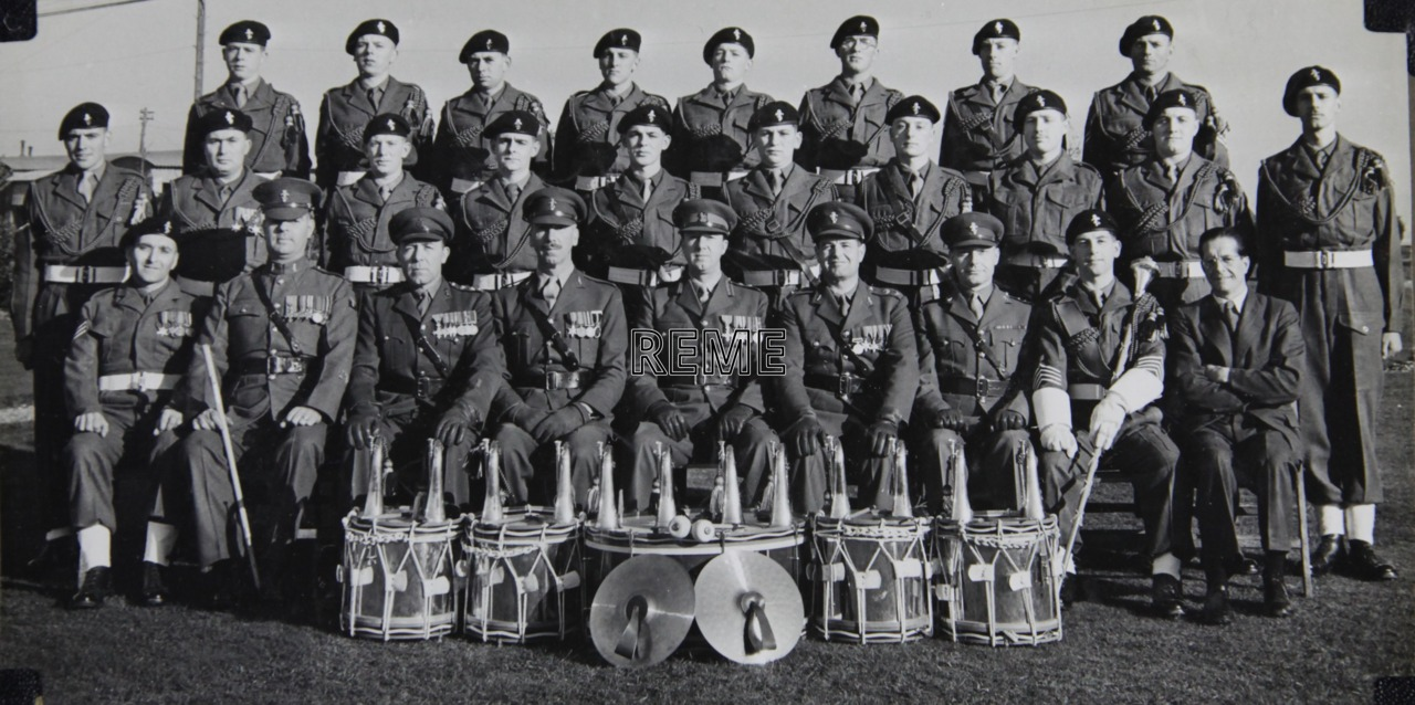 No 1 Training Battalion REME: Corps of Drums