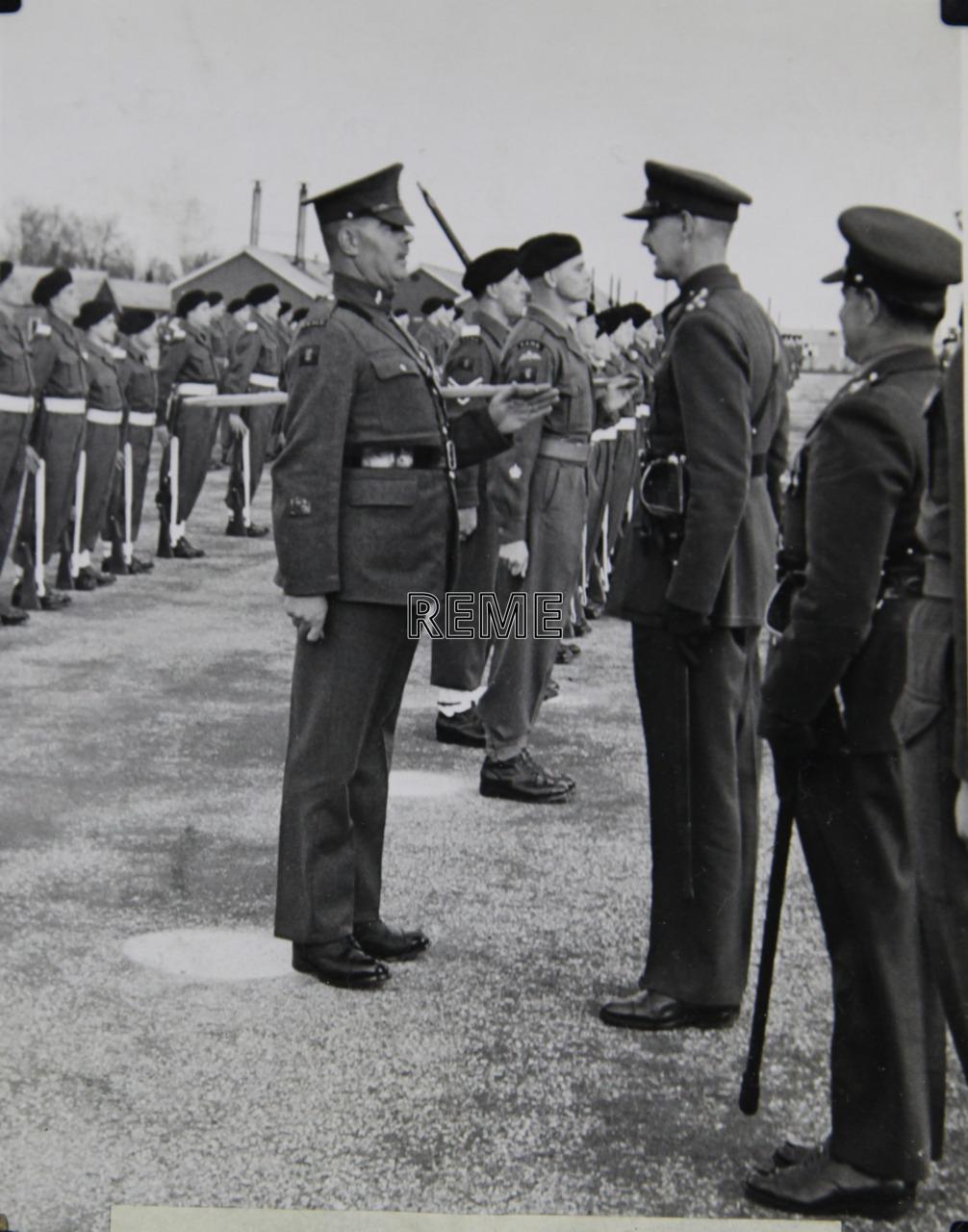 No 1 Training Battalion REME: 'A' Company Passing Out Parade