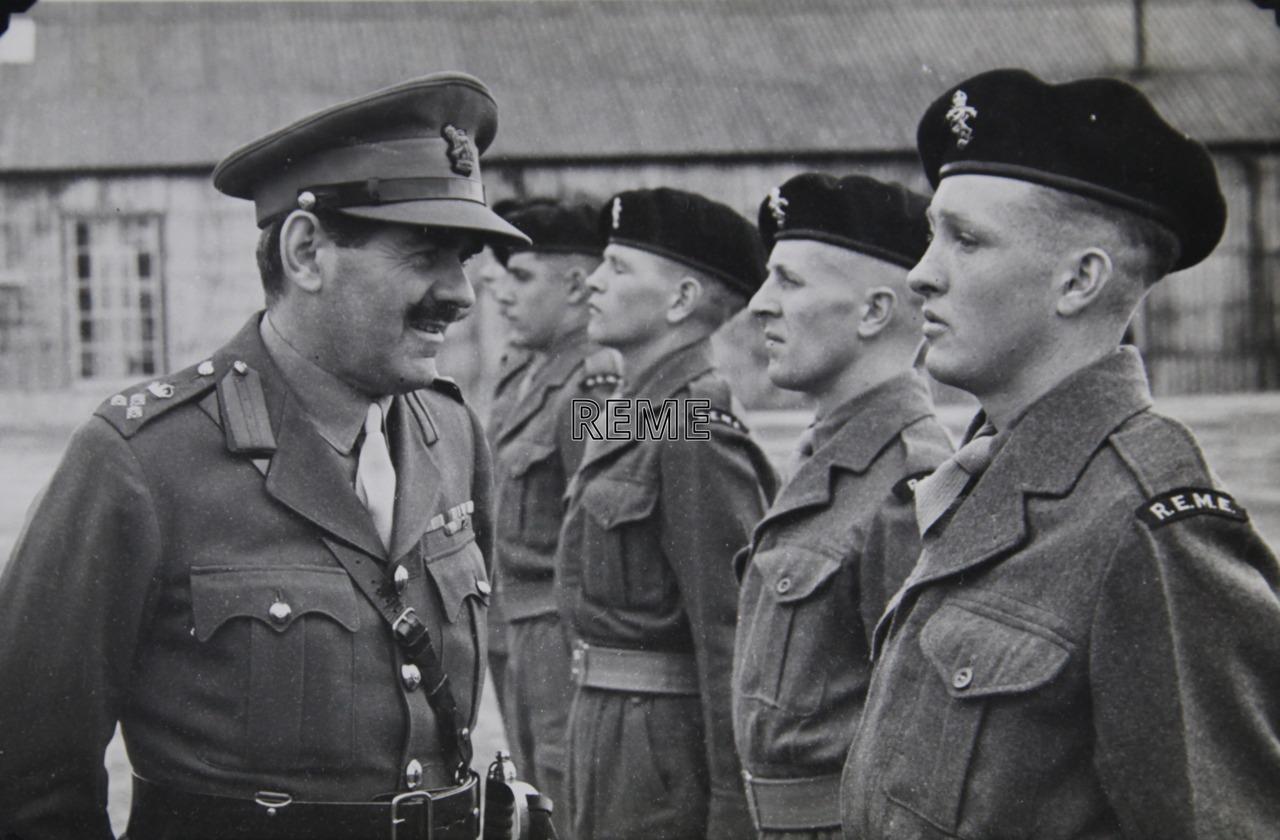 No 1 Training Battalion REME: C Company Passing Out Parade