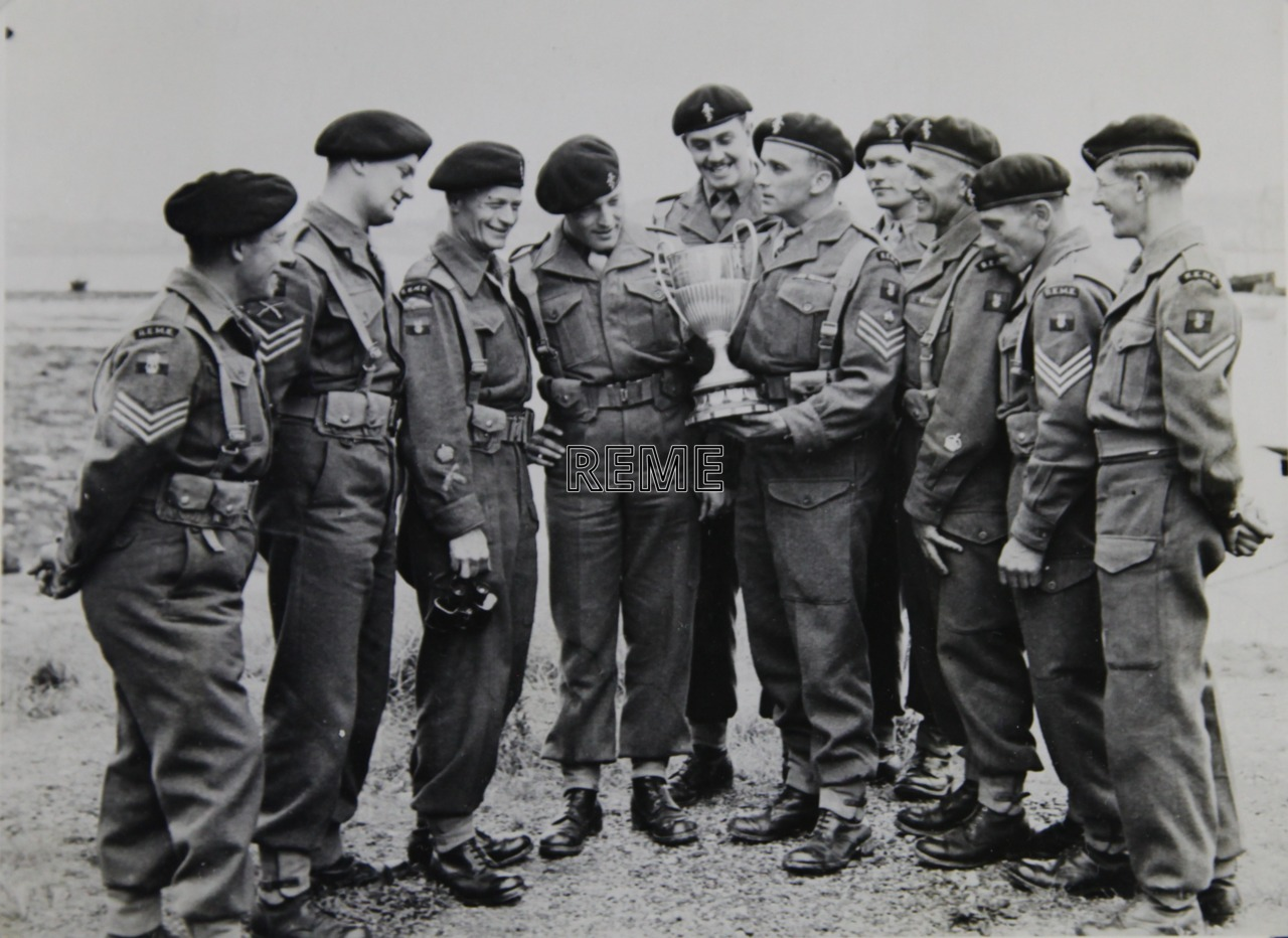 No 1 Training Battalion REME: Western United Services Small Arms Meeting