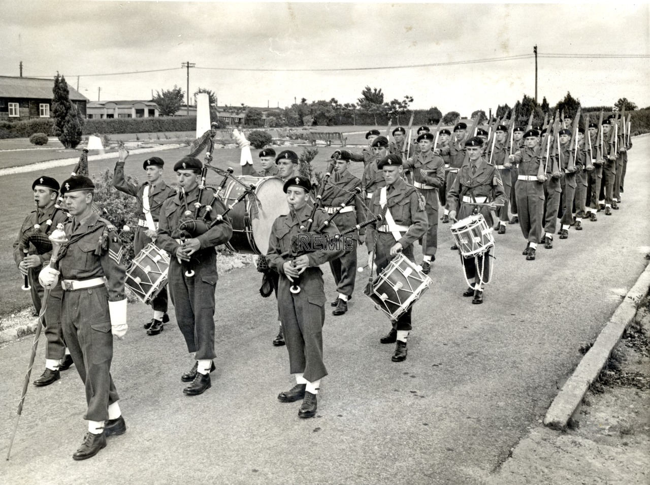 No 1 Training Battalion REME Pipe Band