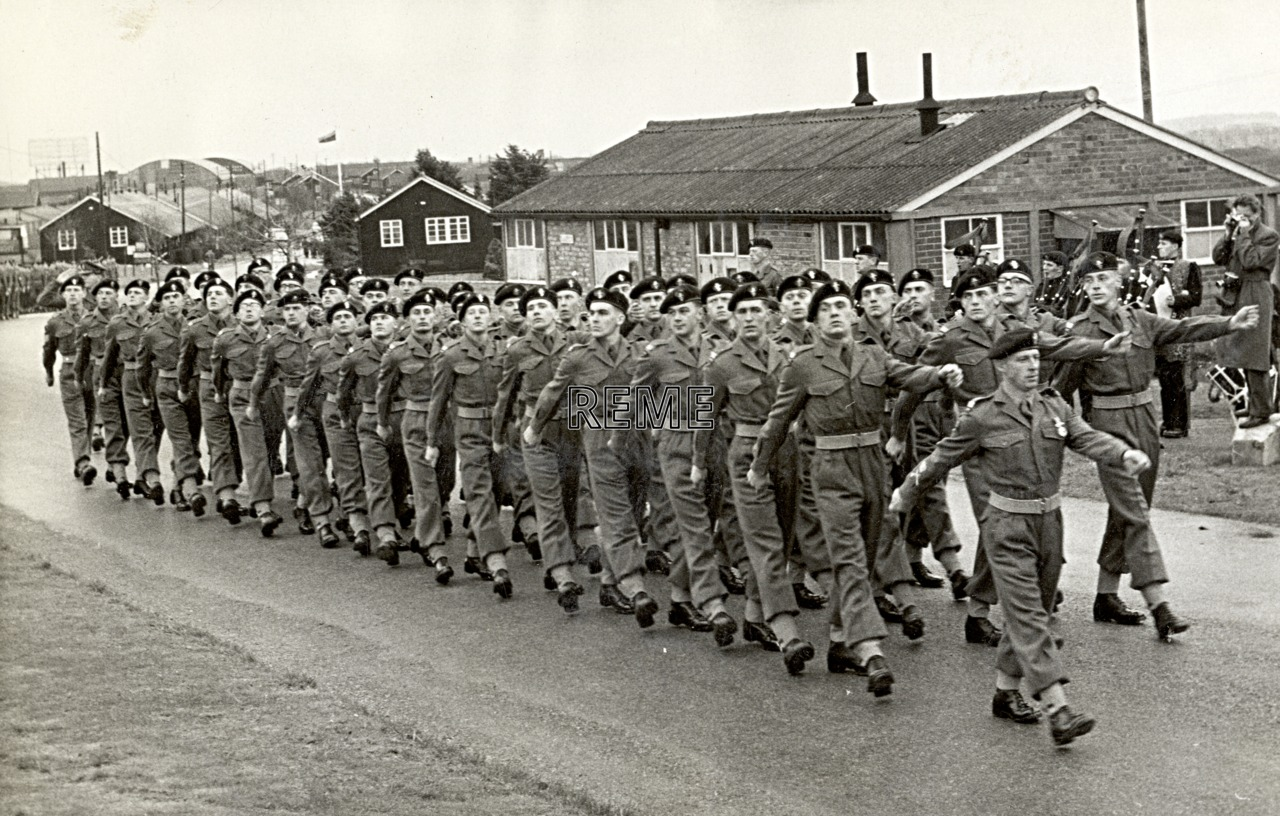 No 1 Training Battalion REME: Remembrance Day Parade, 1960.