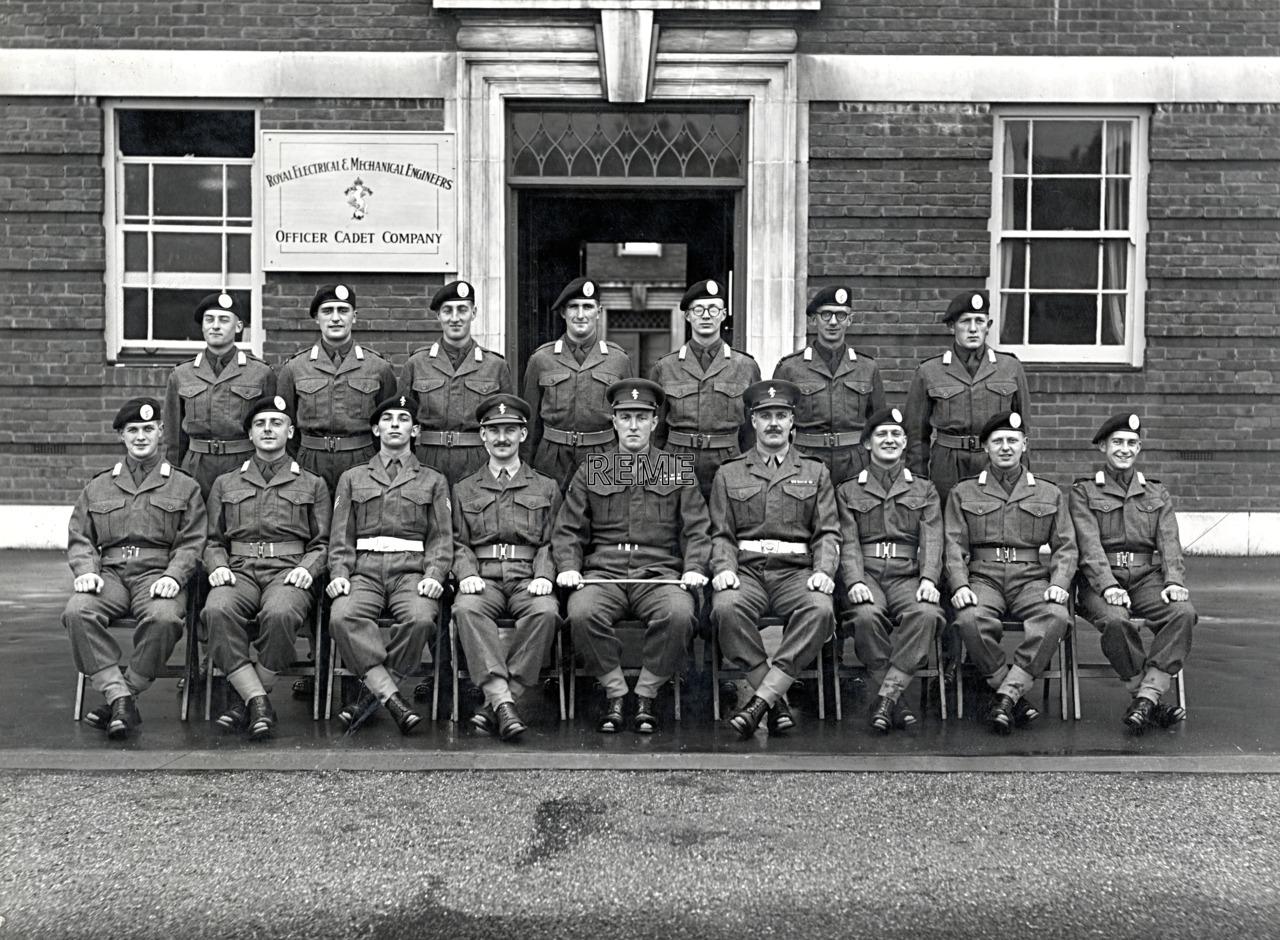 Officer Cadet Company, REME, Bordon: Intake No 1, November 1954