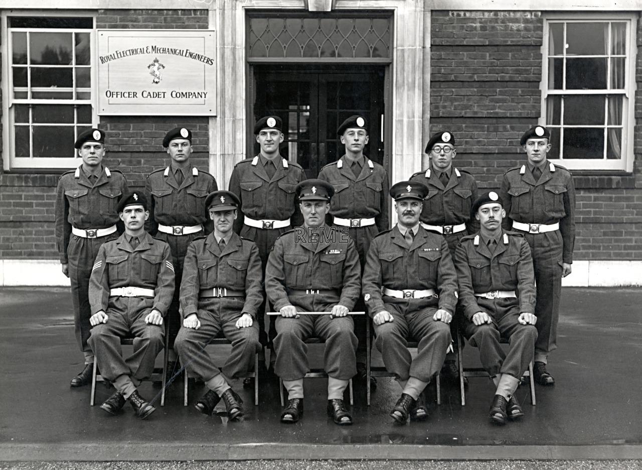 Officer Cadet Company, REME, Bordon: Intake No 2, November 1954