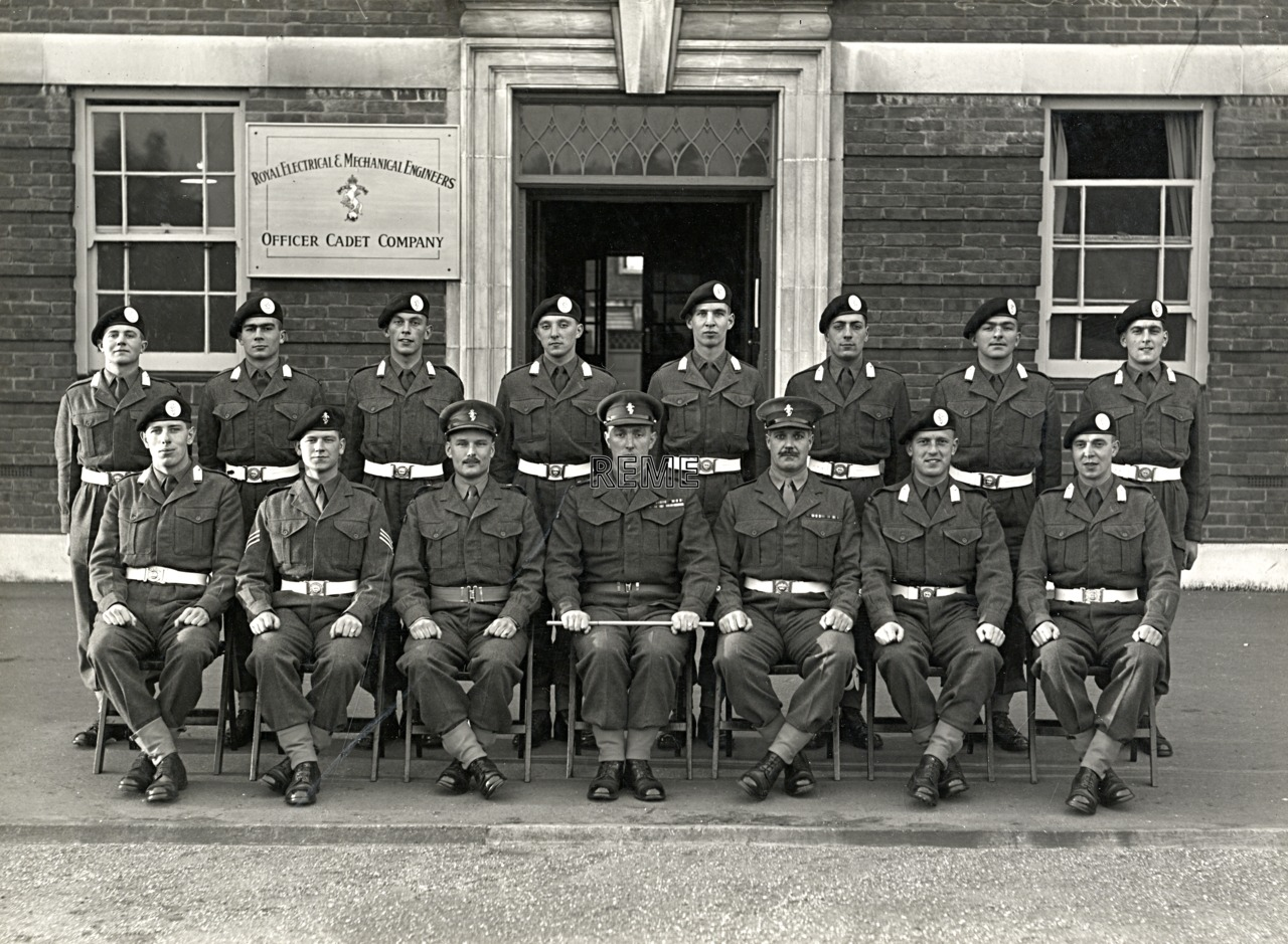 Officer Cadet Company, REME, Bordon: Intake No 3, December 1954