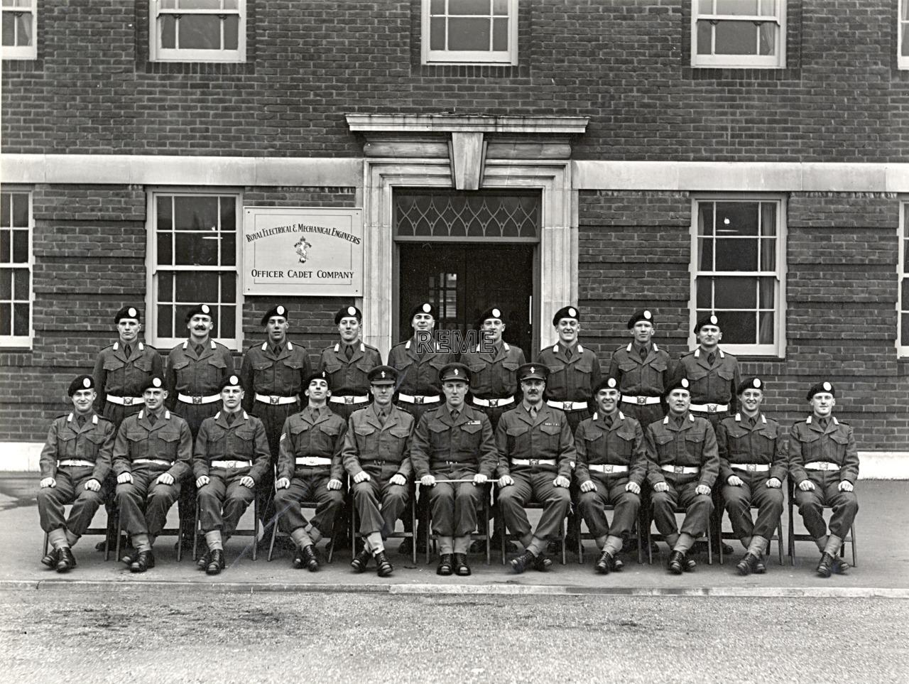 Officer Cadet Company, REME, Bordon: Intake No 5, January 1955