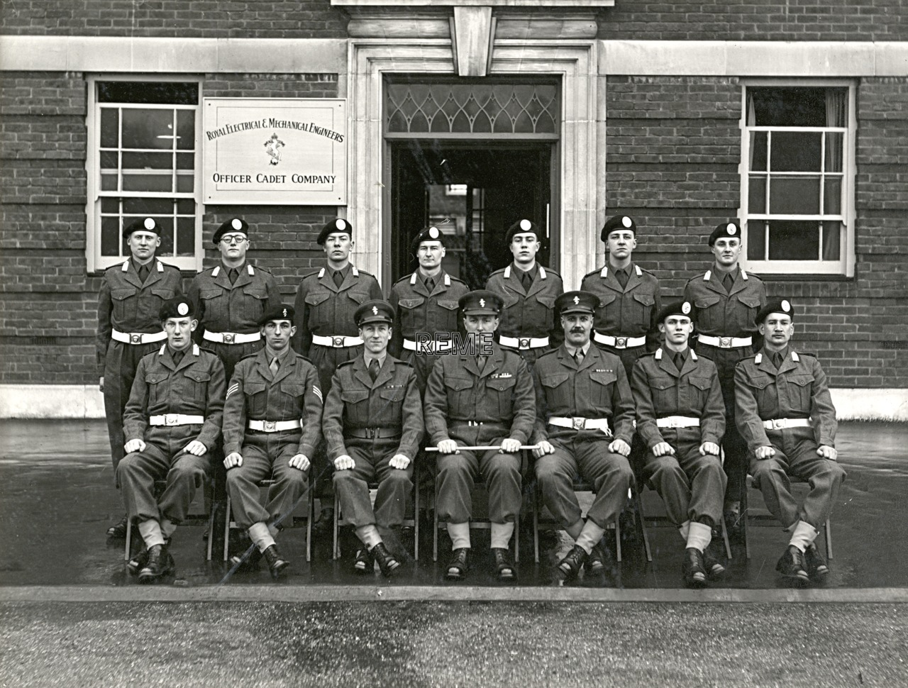 Officer Cadet Company, REME, Bordon: Intake No 6, January 1955