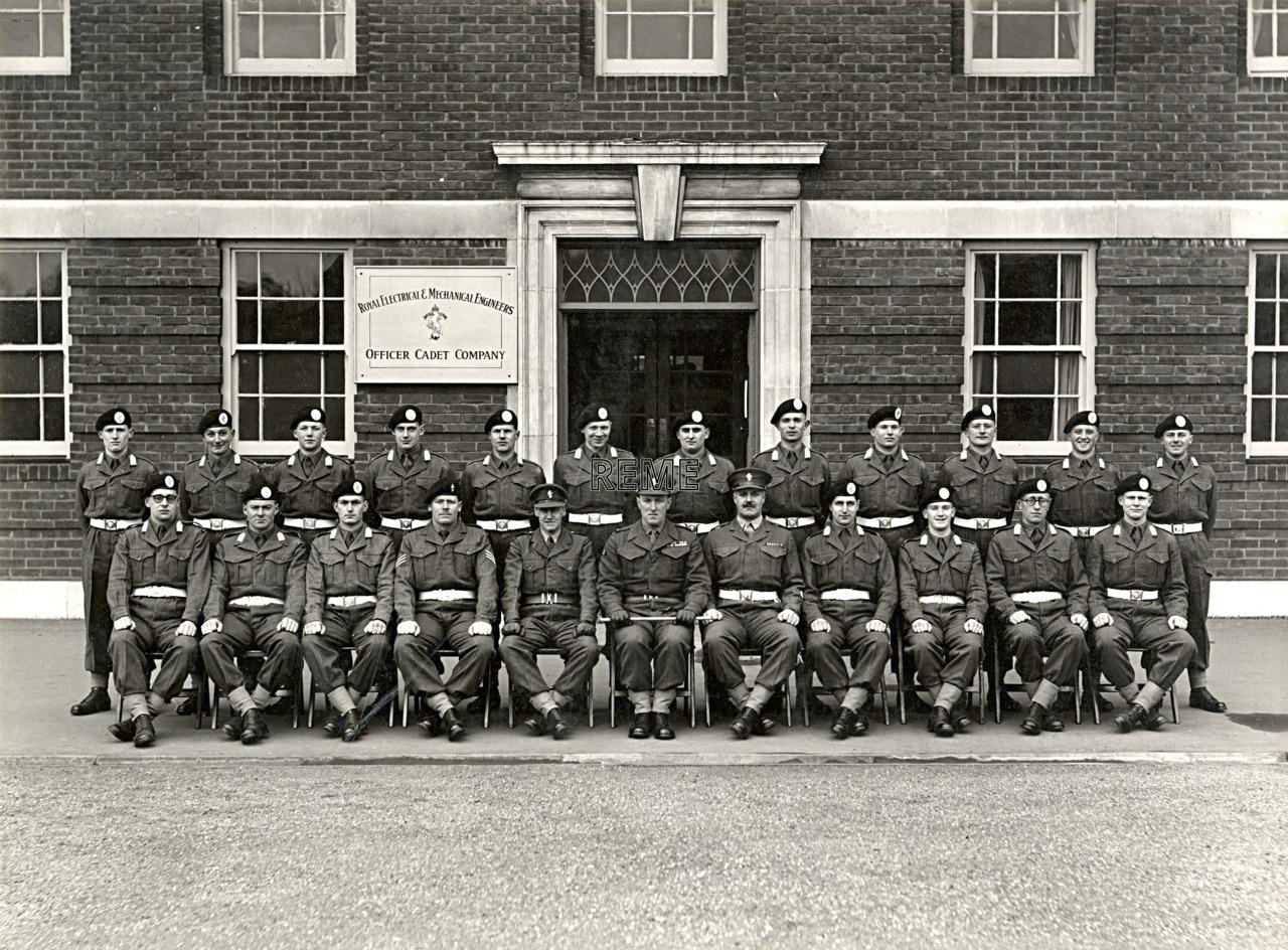 Officer Cadet Company, REME, Bordon: Intake No 7, February 1955