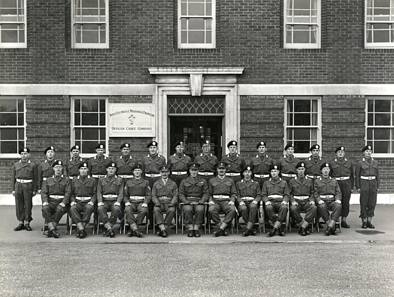 Officer Cadet Company, REME, Bordon: Intake No 8, February 1955