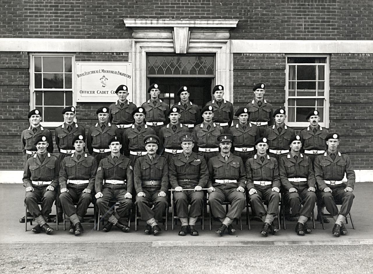 Officer Cadet Company, REME, Bordon: Intake No 9, March 1955