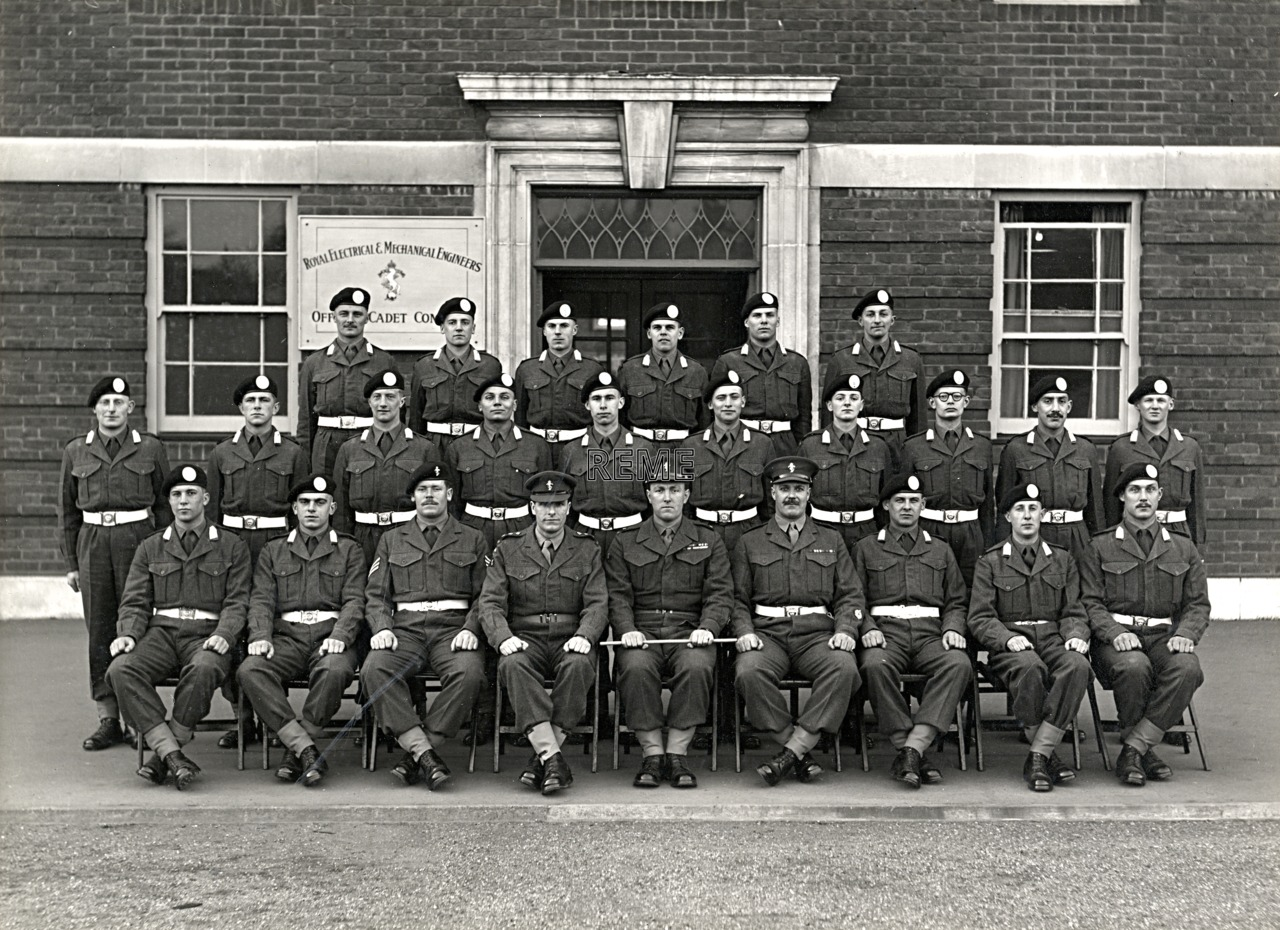 Officer Cadet Company, REME, Bordon: Intake No 10, March 1955