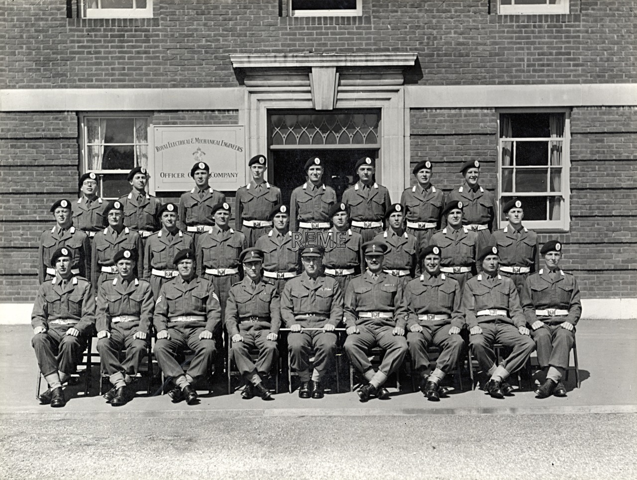 Officer Cadet Company, REME, Bordon: Intake No 11, April 1955