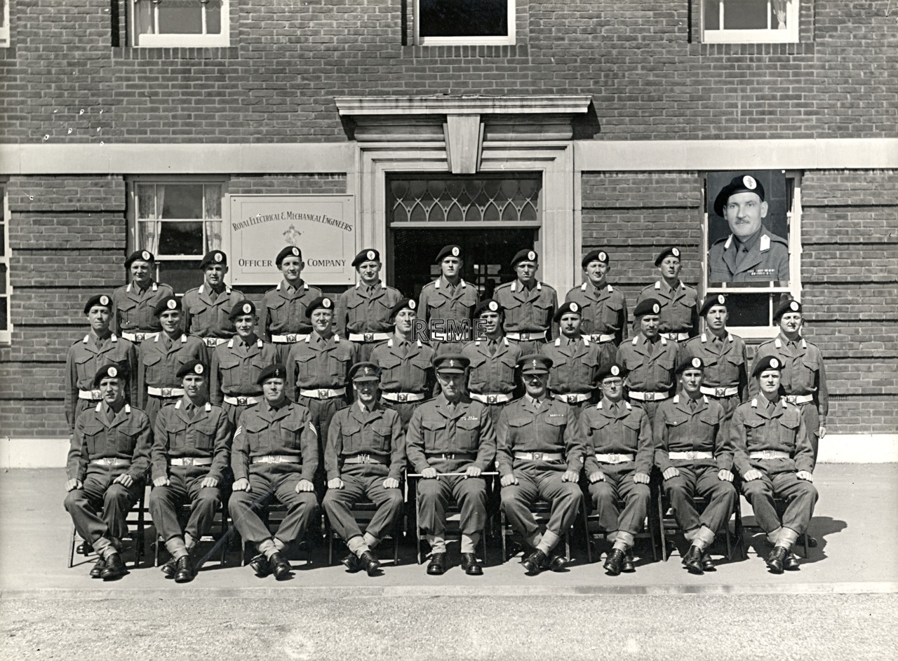 Officer Cadet Company, REME, Bordon: Intake No 12, April 1955