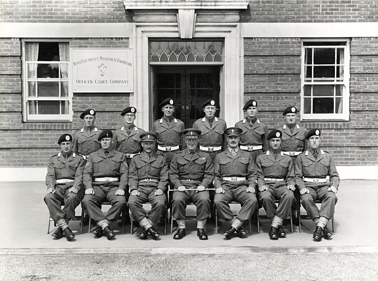 Officer Cadet Company, REME, Bordon: Intake No 14, May 1955