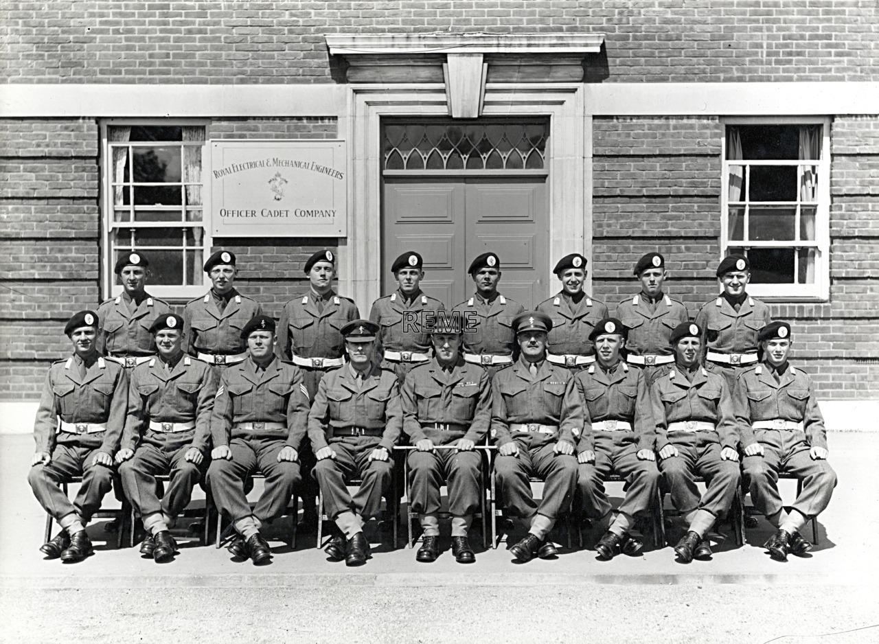 Officer Cadet Company, REME, Bordon: Intake No 16/17, June 1955